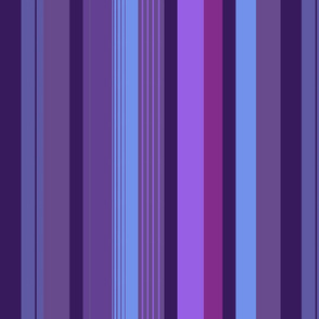 Pants Stripes, Purple Tint