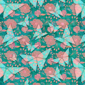 origami butterflys