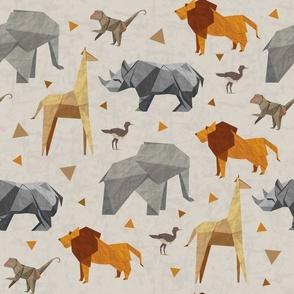 Origami Safari