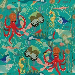 In the kingdom of Octopuses