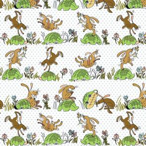 Run run Tortoise! Run run Hare!