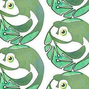 Art Deco Frog