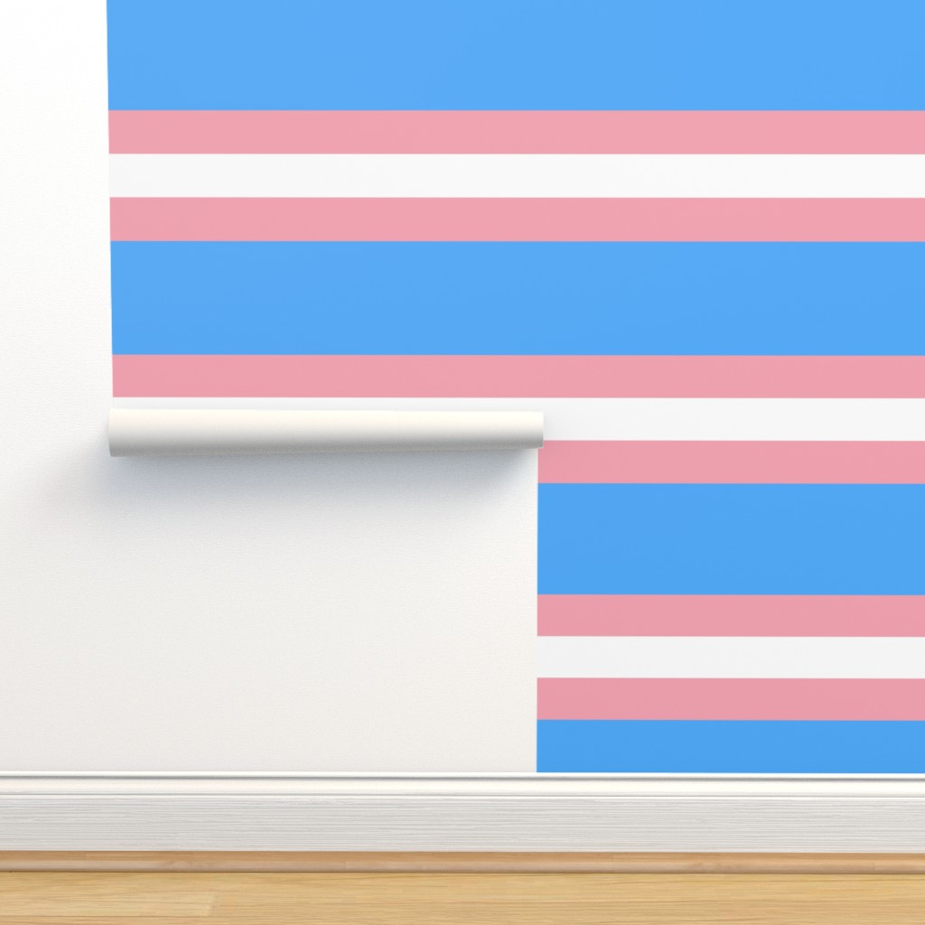 Trans Flag 6 Inch Design On Isobar By Starsspikes Roostery