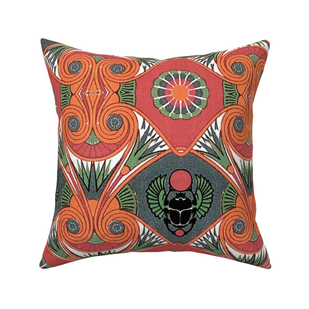 Catalan Throw Pillow featuring sleep like an egyptian  by hypersphere