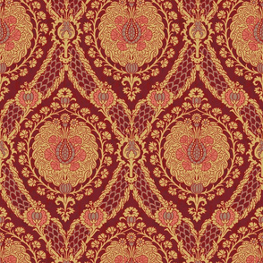 Antique Damask 1a
