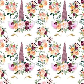 """Paprika Unicorns Pattern 9.25x9"""""""