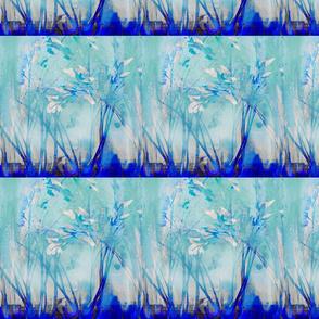 WHITE BLUE WINDOW