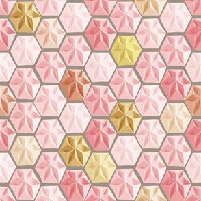 Origami (Pastel Pinks)