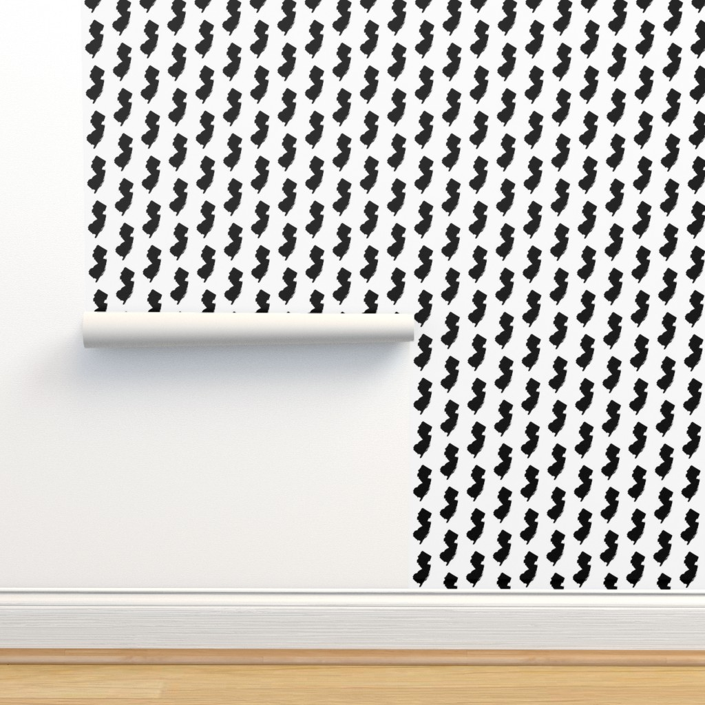 Isobar Durable Wallpaper featuring New Jersey // Small by thinlinetextiles