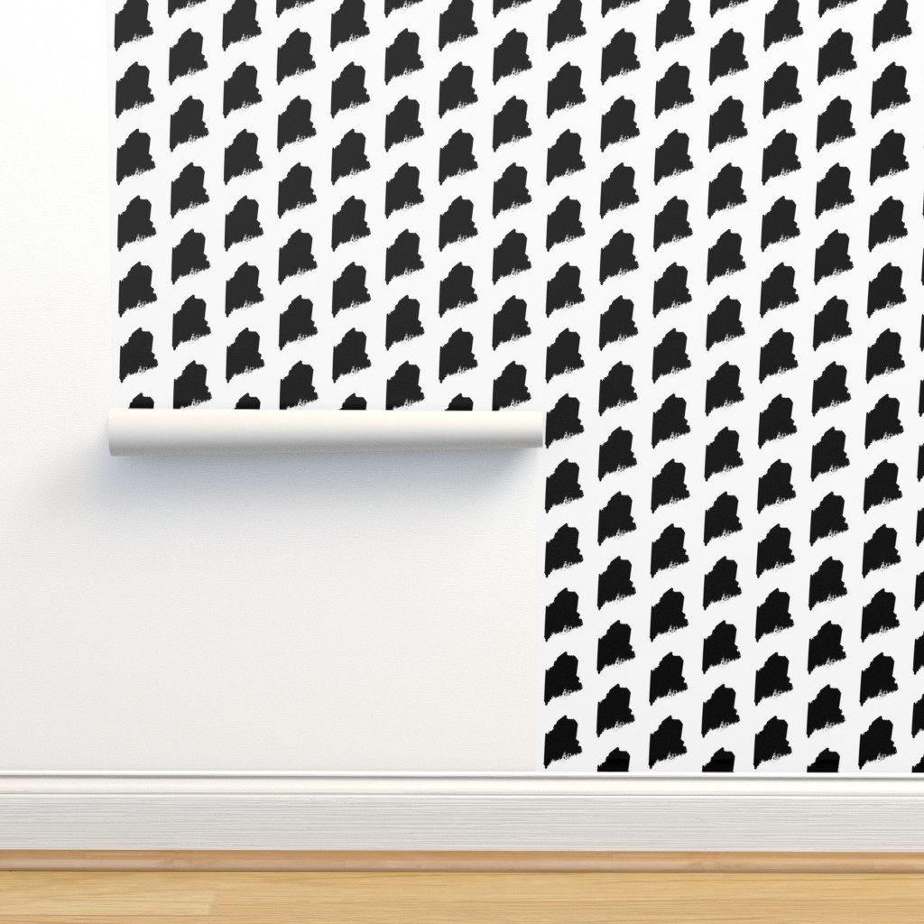 Isobar Durable Wallpaper featuring Maine // Large by thinlinetextiles