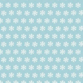 snowflakes small scale