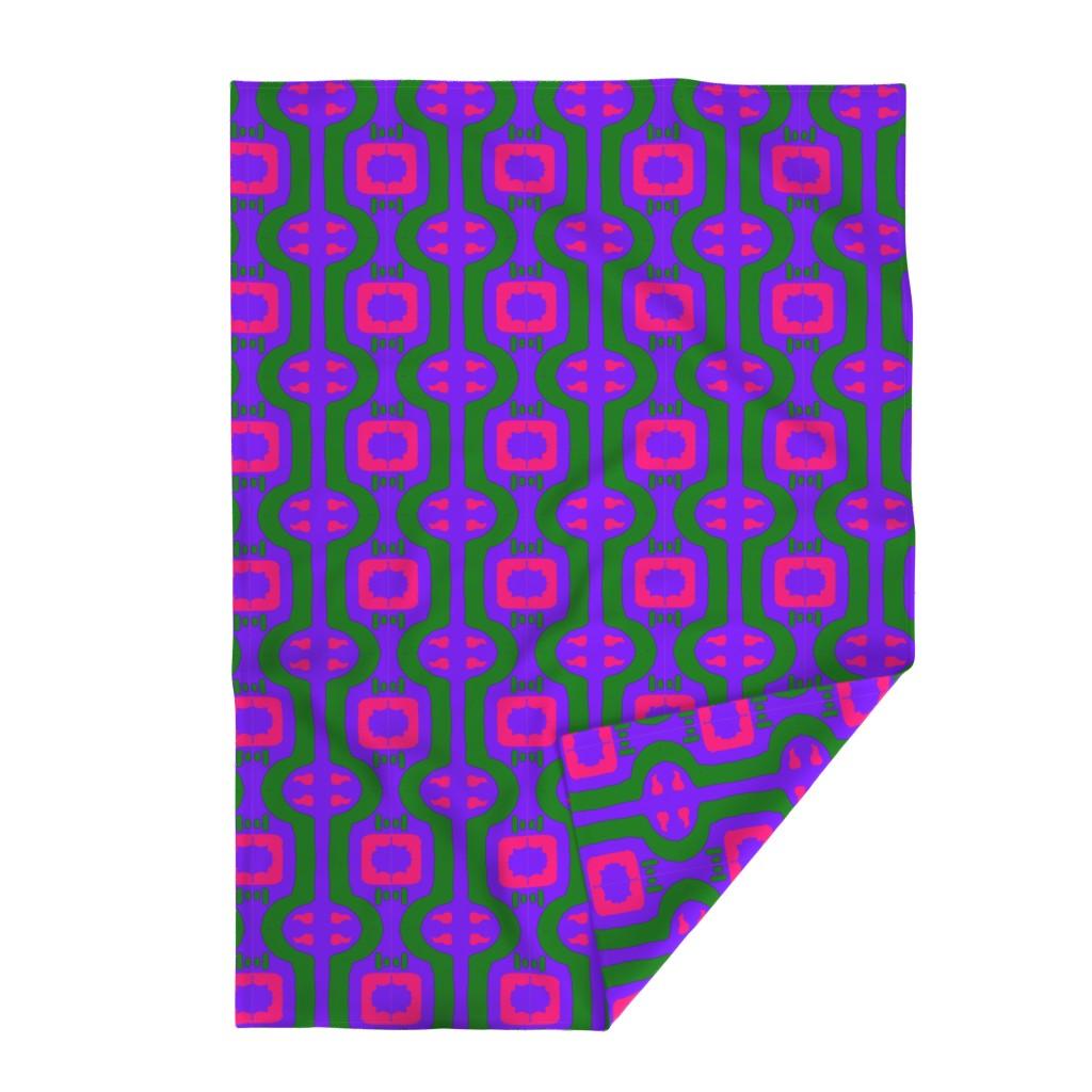 Lakenvelder Throw Blanket featuring Funky Punky Furaha 5  by tabasamu_design