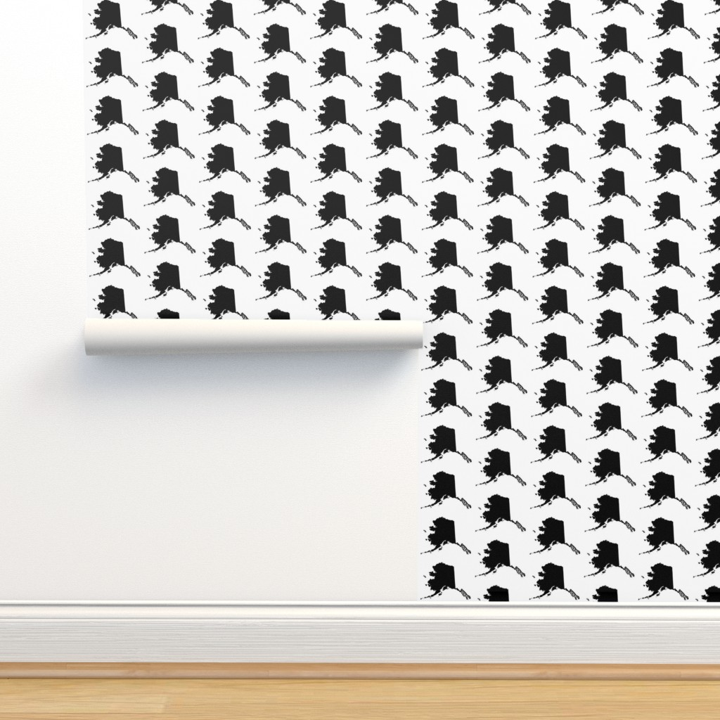 Isobar Durable Wallpaper featuring Alaska // Large by thinlinetextiles