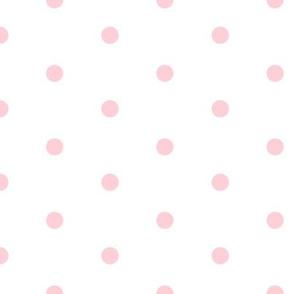 Powder Pink Polka Dots