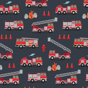 Fire Engine Scatter - Gray