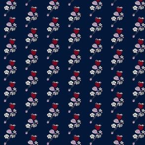 Berries n Navy