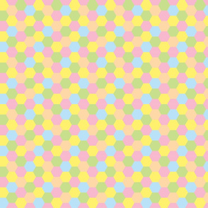 Honeycomb - Pastel