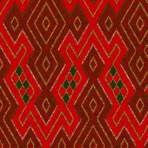 Sarong - scarlet