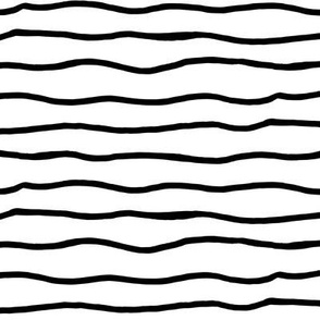 wiggly lines black and white
