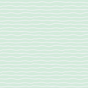 wiggly lines mint and gray