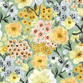 Modern Floral Confetti