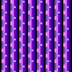 Pixelated Violets