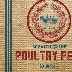 Feed Sack Poultry Feed