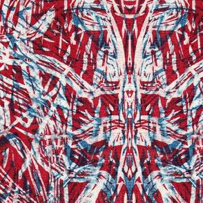 Kaleidoscope Vision Red