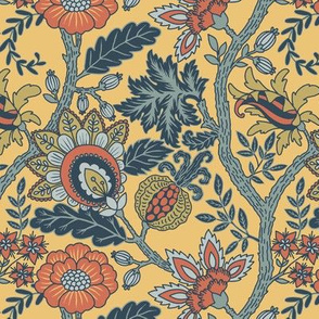 Muted Mustard Indienne small