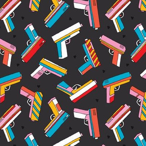 Top shooting Pop series toy gun colorful revolver design
