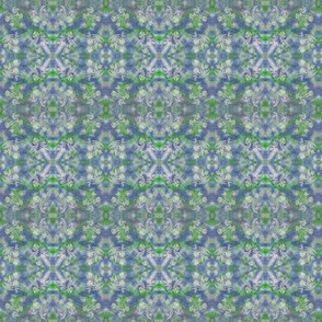 Blue Green Maples Ferns Cosmos Small Mirror