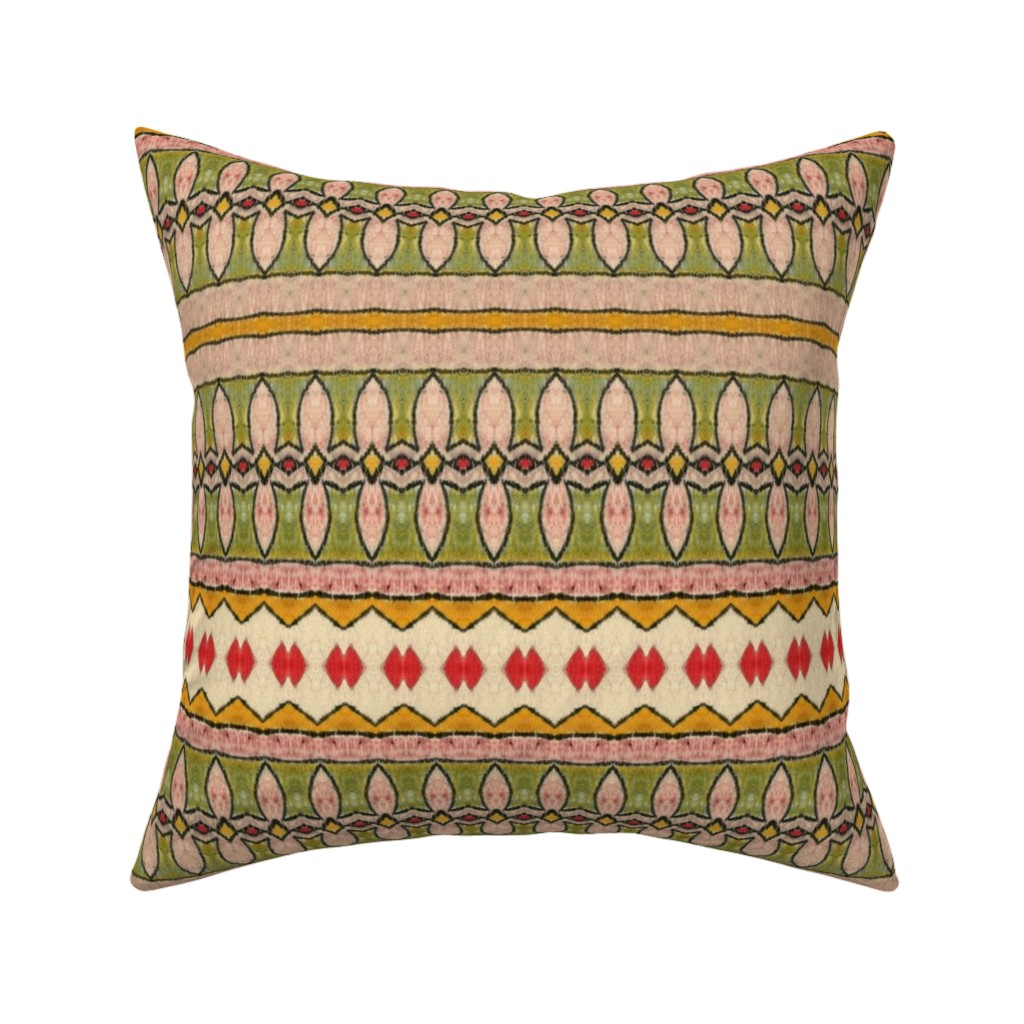 Catalan Throw Pillow featuring Amazonas 96 by hypersphere
