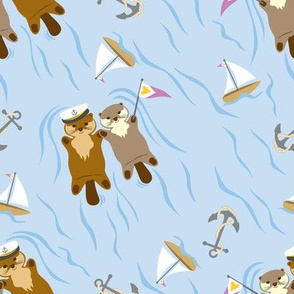 Otter Regatta ©Julee Wood