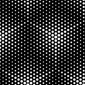 Black and White Optical Static