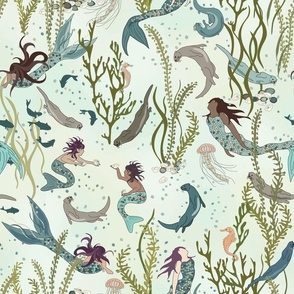 Mermaids and Otters - An Otter World