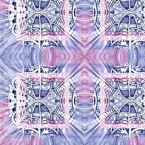 inked tri colour blurred