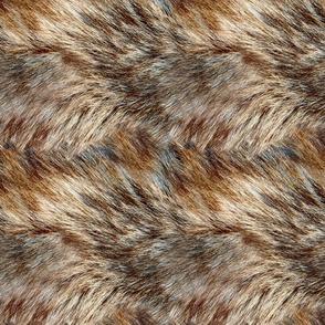 Alaskan Wild Faux Fur LARGE REPEAT