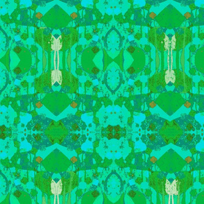Springtime Sonata Emerald Turq