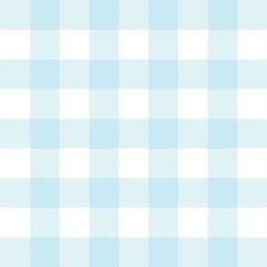 buffalo plaid 2in ice blue and white