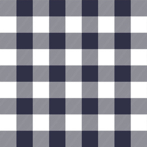 buffalo plaid 2in midnight blue and white