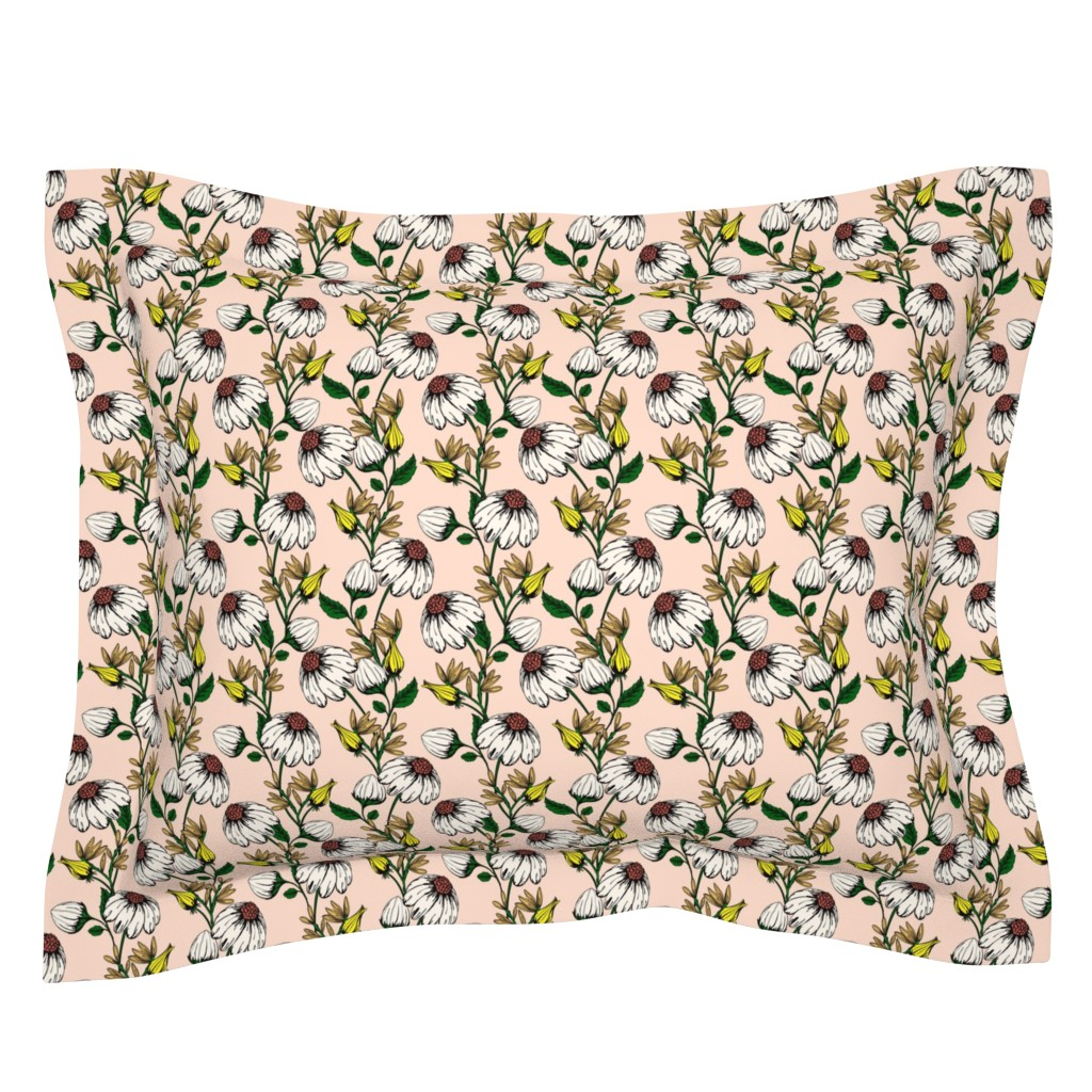 Sebright Pillow Sham featuring Bloom by lapetitelecour