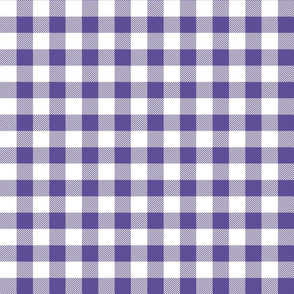buffalo plaid 1in purple and white