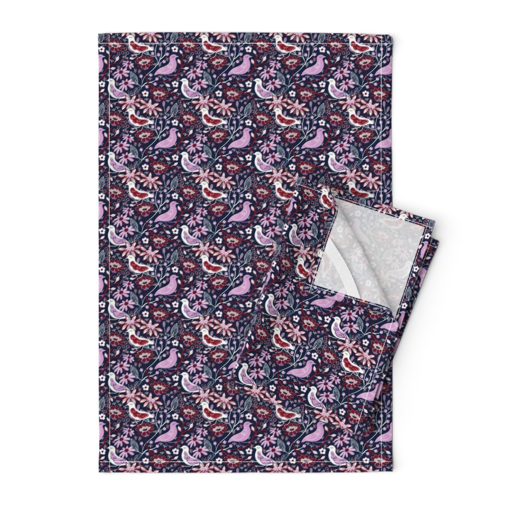 Orpington Tea Towels featuring My Three Birds by susan_polston