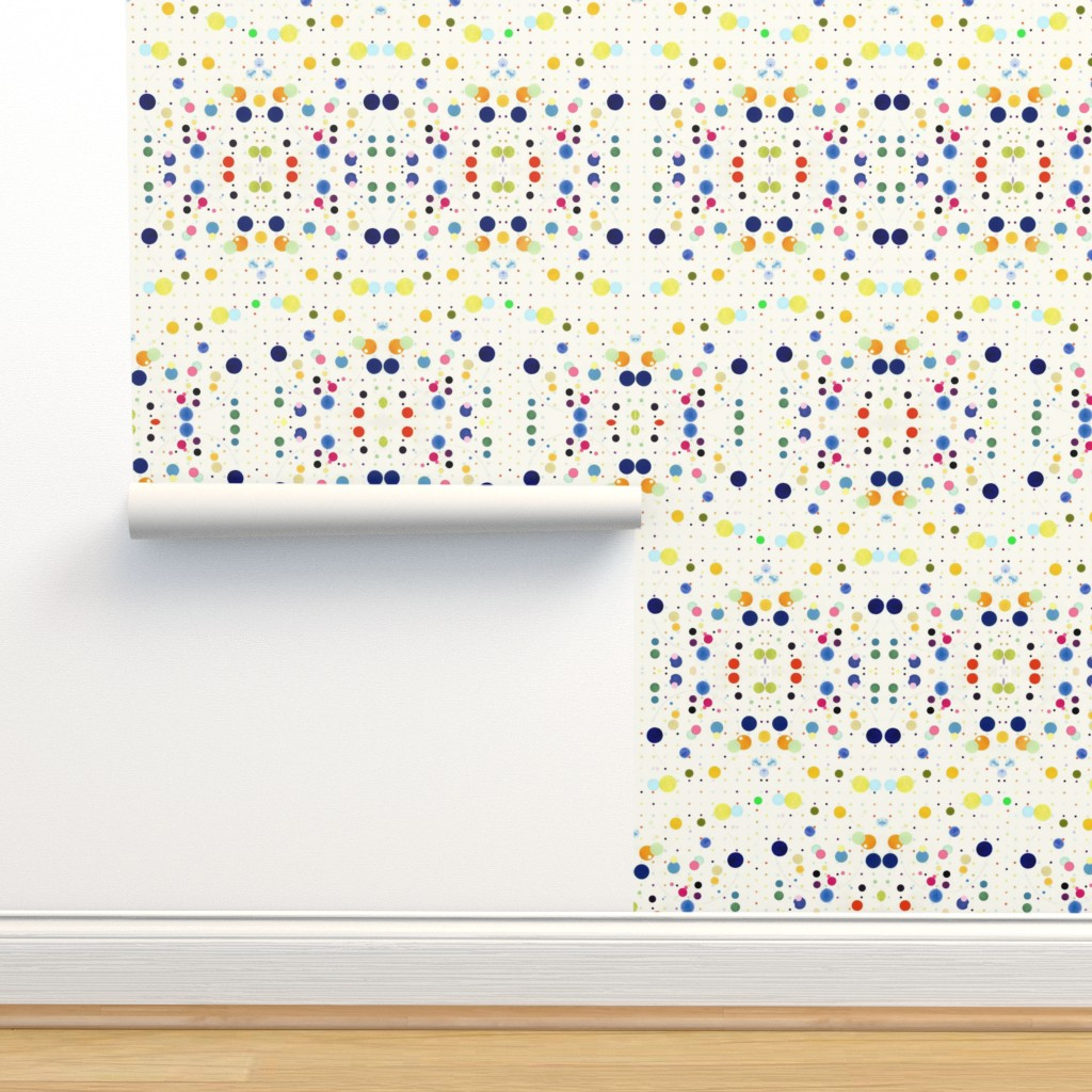 Isobar Durable Wallpaper featuring DOTGRID by colortherapeutics