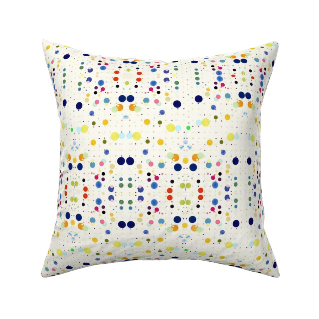Catalan Throw Pillow featuring DOTGRID by colortherapeutics
