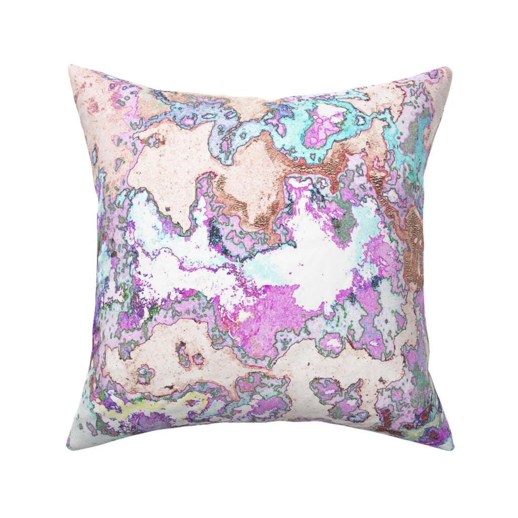 Catalan Throw Pillow featuring HydraSulphuryEdge by colortherapeutics
