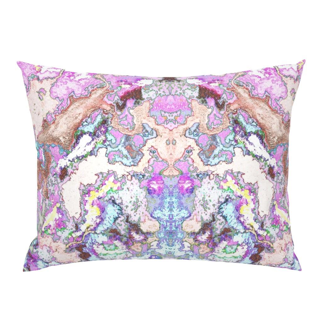 Campine Pillow Sham featuring HydraSulphuryEdge by colortherapeutics