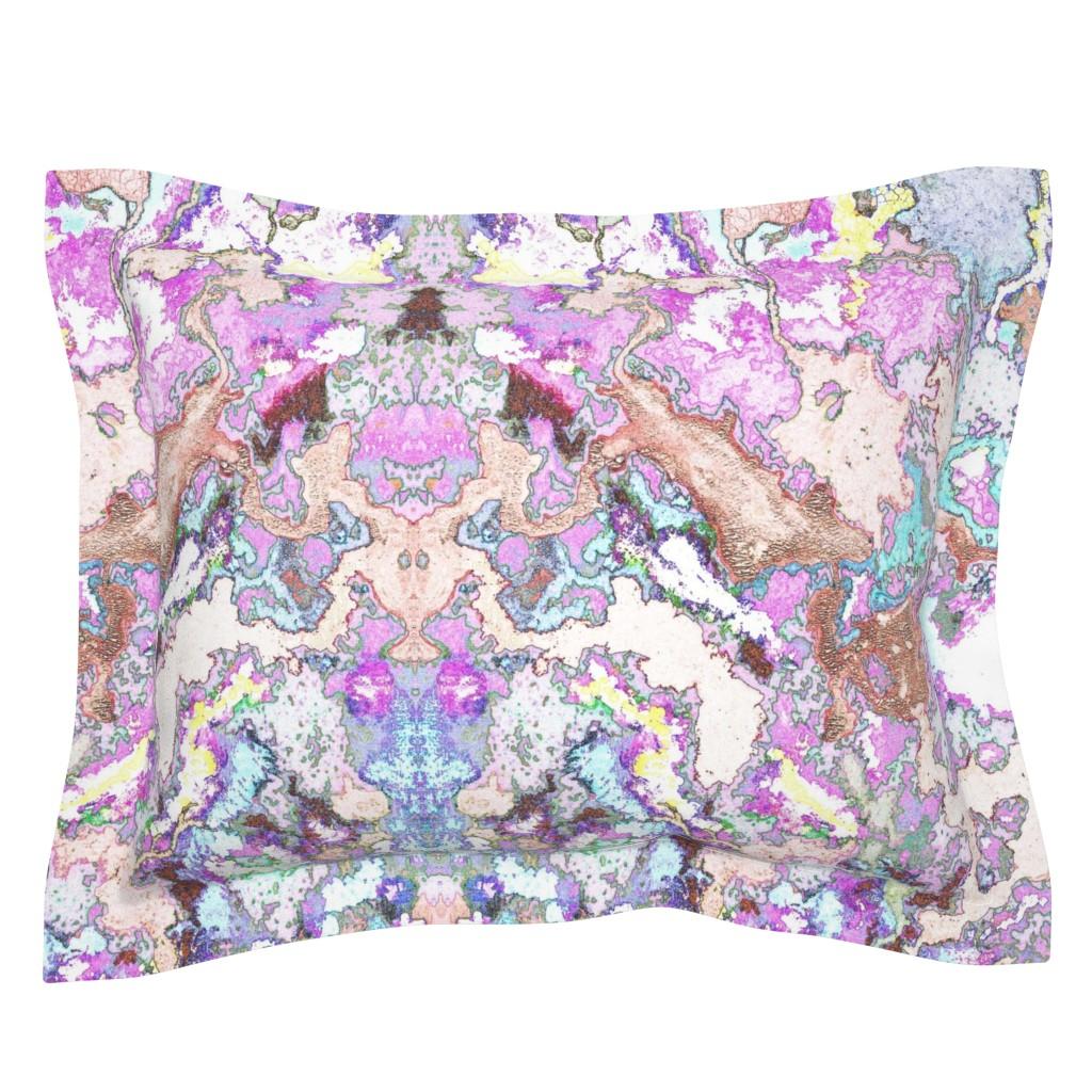 Sebright Pillow Sham featuring HydraSulphuryEdge by colortherapeutics