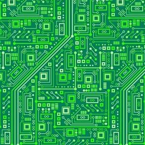 Short Circuits (Neon Green Small)
