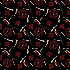 Buffy Vamp Arsenal - Midnight black